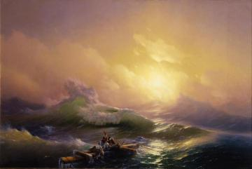 The Ninth Wave Artwork by Ivan Constantinovich Aivazovsky