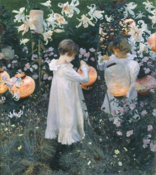 Carnation, Lily, Lily, Rose Artwork by John Singer Sargent