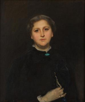 Portrait Of Mrs Raphael Pumpelly Artwork by John Singer Sargent