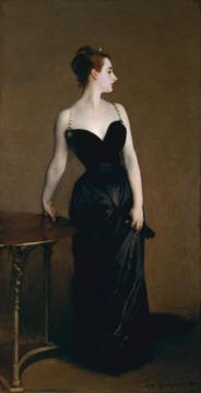 Madame X (madame Pierre Gautreau) Artwork by John Singer Sargent