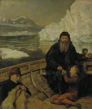 The Last Voyage Of Henry Hudson Artwork by John Maler Collier