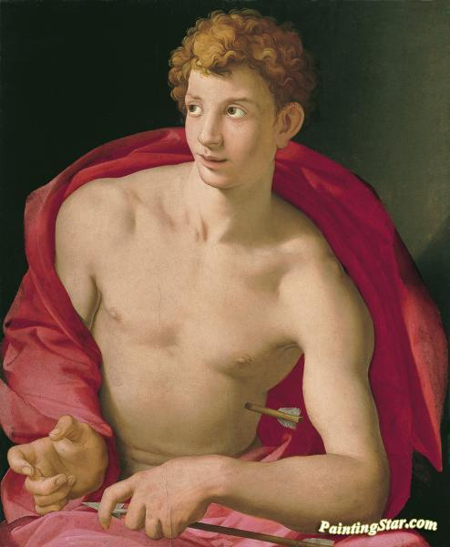 St Sebastian Artwork by Agnolo Bronzino