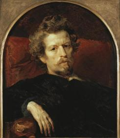 Karl Brullov,Self portrait Artwork by Karl Pavlovich Bryullov