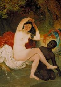 Bathsheba,Beer sheva,Virsavia Artwork by Karl Pavlovich Bryullov