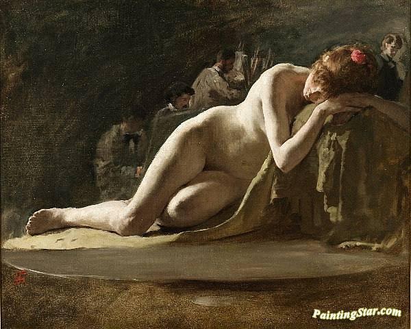The Judgment of Paris by Solomon Joseph Solomon Fine Art Repro Canvas or Paper
