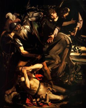 Conversion of St. Paul Artwork by Caravaggio