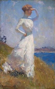 Sunlight Artwork by Frank W. Benson