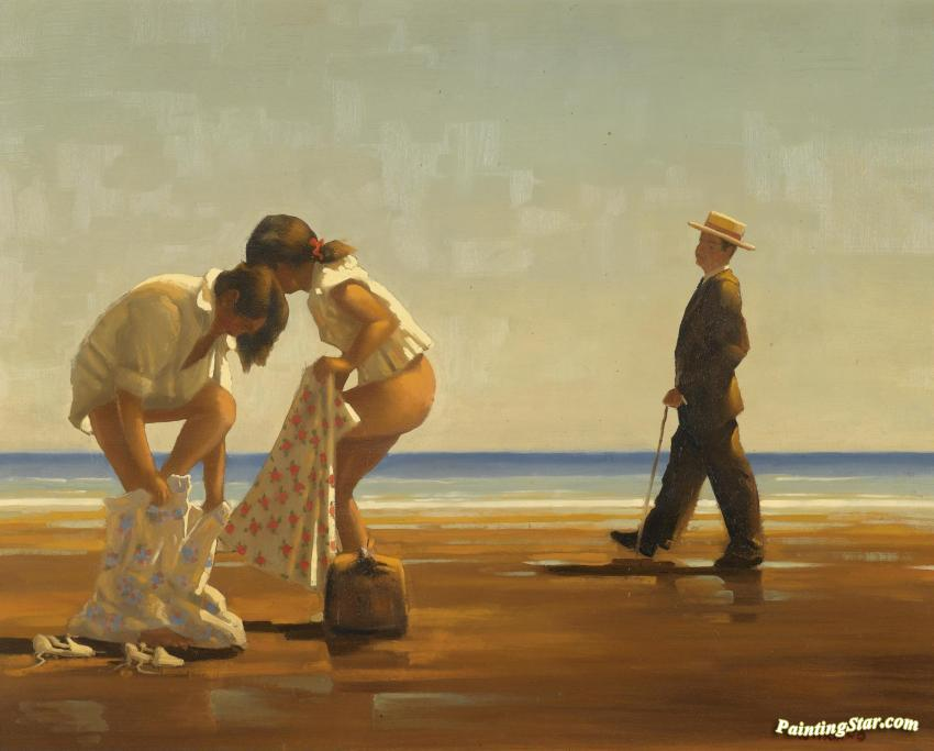 Discovered Artwork By Jack Vettriano Oil Painting Amp Art