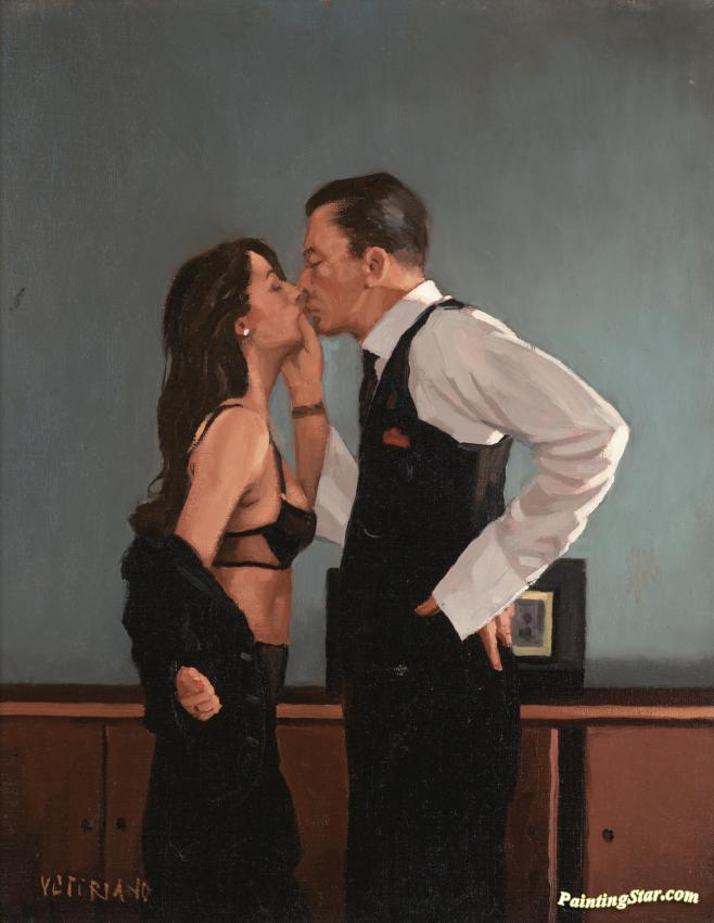 Study For Pincer Movement Artwork By Jack Vettriano Oil