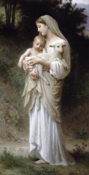 Innoncence Artwork by William Adolphe Bouguereau