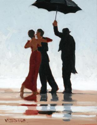 bathers artwork by jack vettriano oil painting art. Black Bedroom Furniture Sets. Home Design Ideas