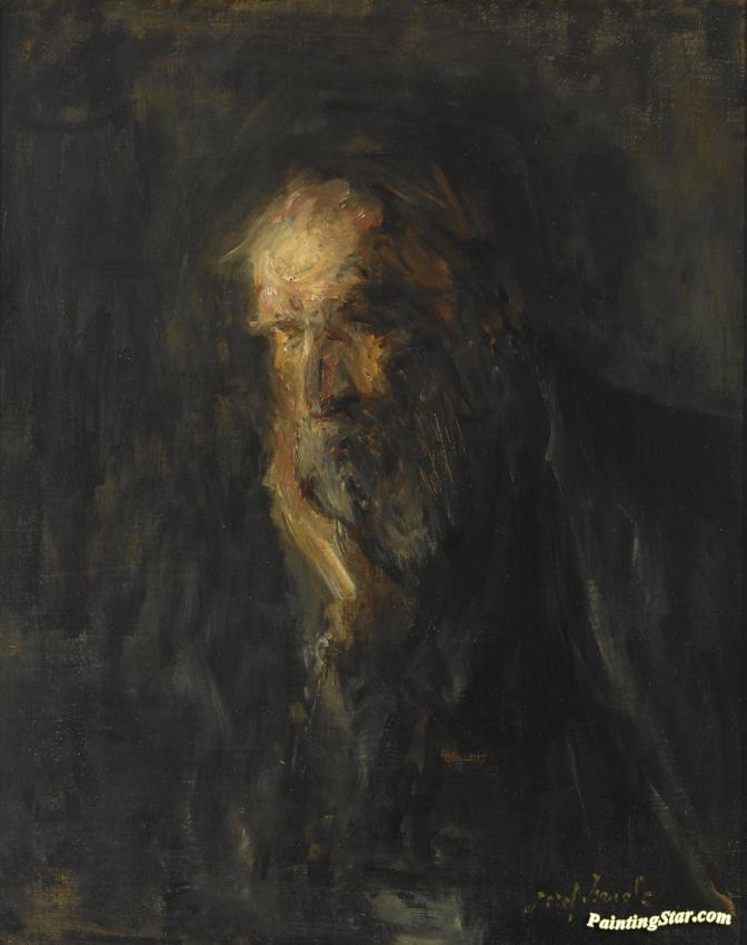 Jozef Israels - Page 3 Jozef-israels-portrait-of-an-old-man