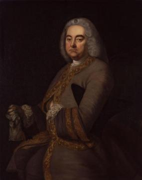 George Frideric Handel Artwork by Thomas Hudson