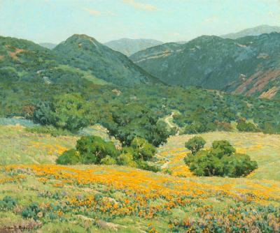 Southern California Hills Artwork by Granville Redmond