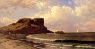 Castle Rock,nahant,massachusetts Artwork by Alfred Thompson Bricher