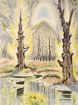 Glory Of Spring(1950) Artwork by Charles Burchfield