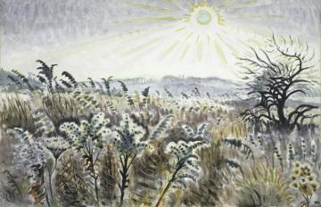 Goldenrod In December(1948) Artwork by Charles Burchfield