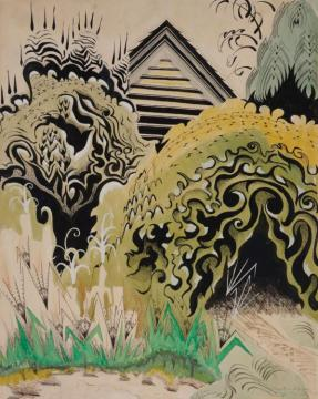 The Insect Chorus Artwork by Charles Burchfield