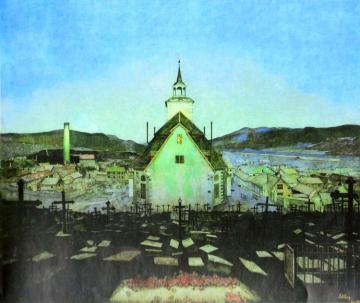 Natt Artwork by Harald Oskar Sohlberg