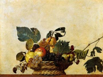 Basket Of Fruit Artwork by Caravaggio