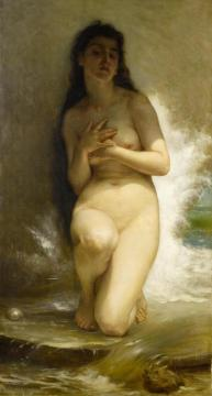 La Perle,1894 Artwork by William Adolphe Bouguereau