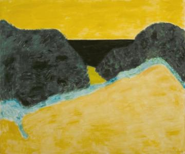 Yellow Sky Artwork by Milton Avery