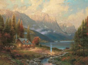 Beginning Of A Perfect Day Artwork by Thomas Kinkade
