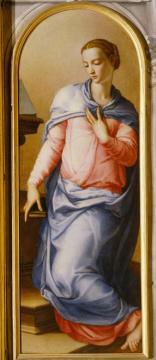 Virgin Of The Annunciation Artwork by Agnolo Bronzino