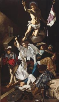 Caravaggio,the Resurrection Artwork by Caravaggio
