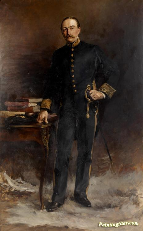 Portrait Of A Minister Full Length In Court Dress