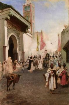 Entrance Of Mohammed Ii Into Constantinople Artwork by Benjamin Constant