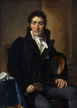 Portrait Of The Comte De Turenne Artwork by Jacques Louis David