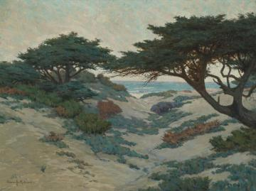 Carmel Coast Artwork by Granville Redmond