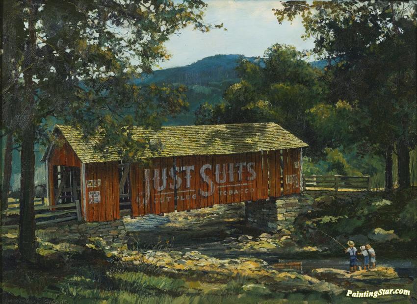 Eric Sloane Oil Painting
