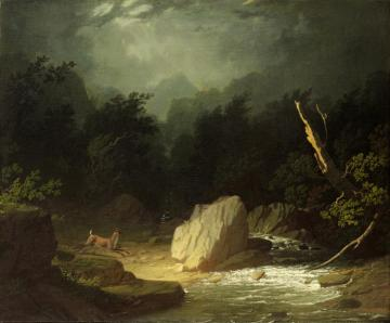 The Storm Artwork by George Caleb Bingham