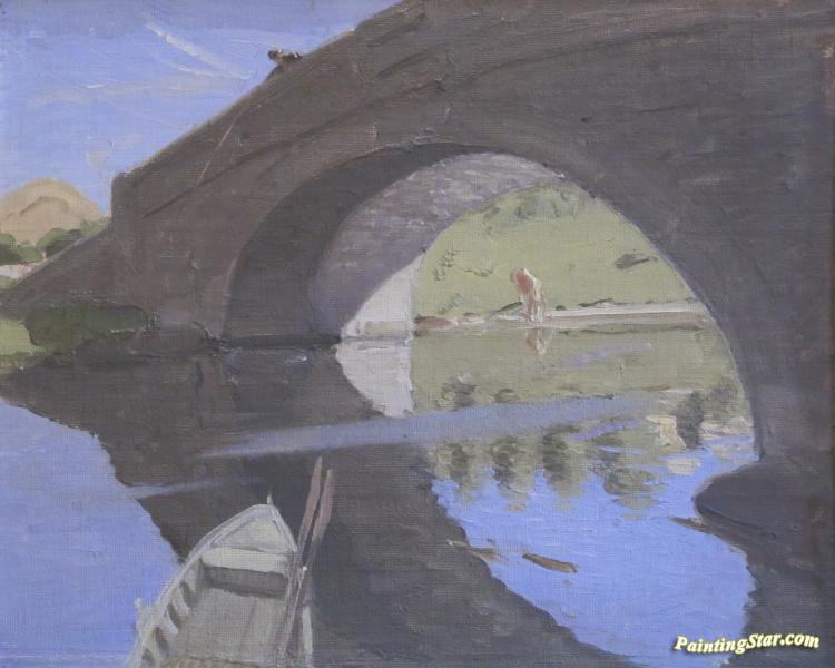 Fordingbridge Artwork By Sir William Nicholson Oil
