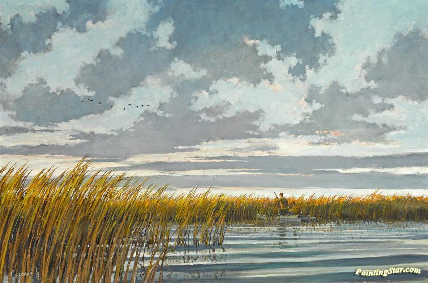 Duck Hunting Artwork By Eric Sloane Oil Painting Amp Art