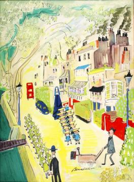 But In London There's A Place To Get, A Retired Horse To Keep As A Pet Artwork by Ludwig Bemelmans
