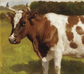 The Cow Artwork by Otto Bache