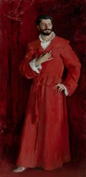 Dr Pozzi At Home Artwork by John Singer Sargent