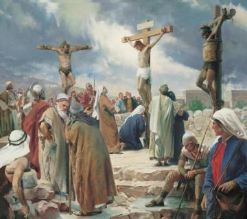 The Crucifixion Artwork by Harry Anderson