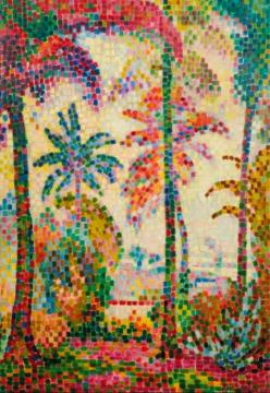 Paysage Tropical, 1907 Artwork by Jean Metzinger