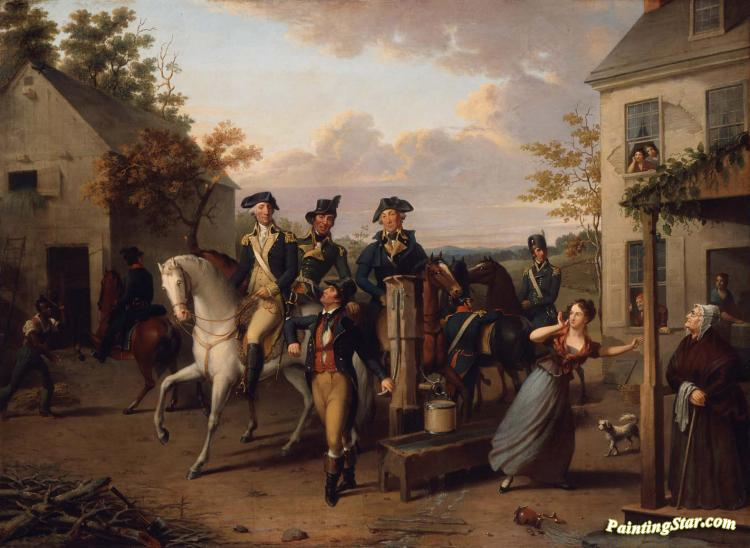 An Incident Of The Revolution, 1831 Artwork by Jacob Eichholtz