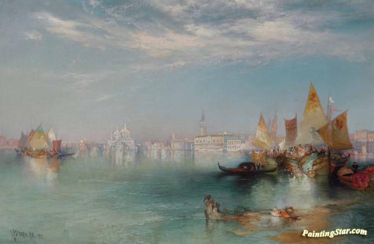 Grand Canal, Venice Artwork by Thomas Moran