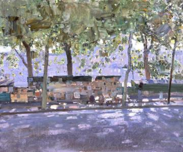 Embankment Of Seine Artwork by Bato Dugarzhapov