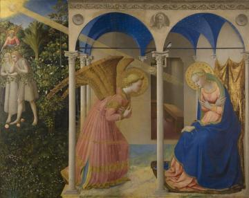The Annunciation, 1430-1432 Artwork by Fra Angelico