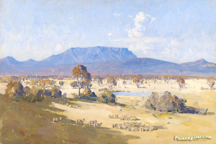 Land Of The Golden Fleece, 1926 Artwork by Sir Arthur Streeton