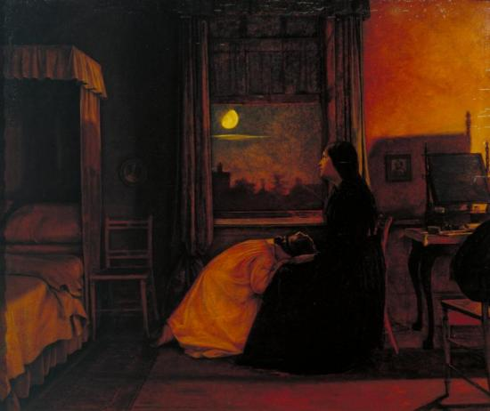 Past And Present, No. 2, 1858 Artwork by Augustus Leopold Egg