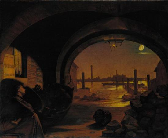 Past And Present, No. 3, 1858 Artwork by Augustus Leopold Egg