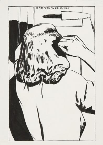 No Title (do Not Make...) Artwork by Raymond Pettibon